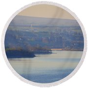 Glorious Morning On Lough Eske - Donegal Ireland Round Beach Towel