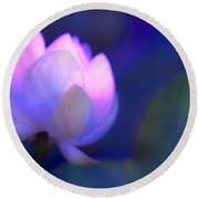 Glow Of Inner Truth. Impressionism Round Beach Towel