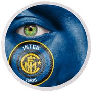 Go Inter Milan Round Beach Towel