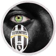 Go Juventus Round Beach Towel