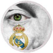 Go Real Madrid Round Beach Towel