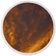 Gods Canvas Round Beach Towel