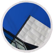 God's Light - Architectural Photography By Sharon Cummings  Round Beach Towel