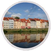 Goerlitz Germany Round Beach Towel