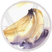 Going Bananas 1 Round Beach Towel