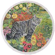 Going My Way? Round Beach Towel