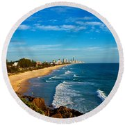 Gold Coast North Round Beach Towel