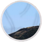 Golden Gate Bridge 1 Round Beach Towel