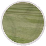 Golf Grass Round Beach Towel
