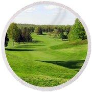 Golfer's Dream Round Beach Towel
