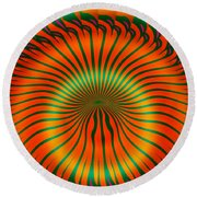 Gone For Good Round Beach Towel
