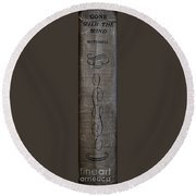 Gone With The Wind Mitchell Round Beach Towel