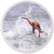 Good Surf Round Beach Towel