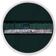 Gooderham And Worts Round Beach Towel