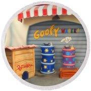 Goofy Water Disneyland Toontown Round Beach Towel