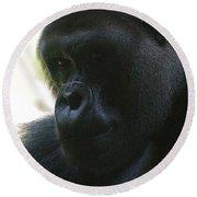Gorilla-10 Round Beach Towel