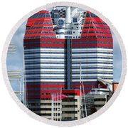 Gothenburg Utkiken Tower 06 Round Beach Towel