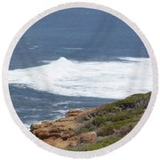 Gracetown Beach 1.1 Round Beach Towel