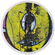 Graffitio Round Beach Towel