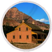 Grafton Utah 1866 Round Beach Towel