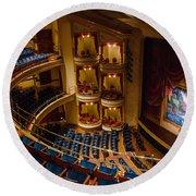 Grand 1894 Opera House - Galveston Round Beach Towel