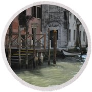 Grand Canal Style Home Sweet Home Round Beach Towel