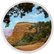 Grand Canyon - South Rim Round Beach Towel