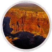 Grand Canyon 12 Round Beach Towel