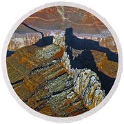 Grand Canyon 14 Round Beach Towel