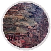 Grand Canyon 7 Round Beach Towel