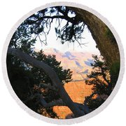 Grand Canyon 74 Round Beach Towel