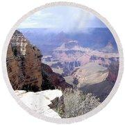 Grand Canyon 84 Round Beach Towel
