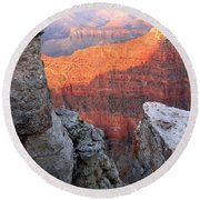 Grand Canyon 85 Round Beach Towel