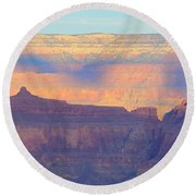 Grand Canyon Dawn 4 Round Beach Towel