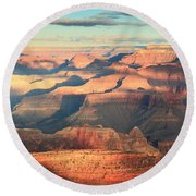 Grand Canyon Dawn Round Beach Towel