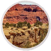 Grand Canyon National Park South Rim Round Beach Towel