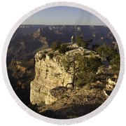 Grand Canyon Outlook Round Beach Towel