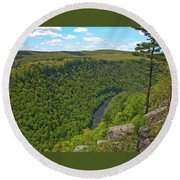 Grand Canyon Pa 2770 Round Beach Towel