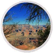 Grand Canyon - South Rim 1  Round Beach Towel