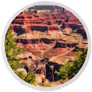 Grand Canyon Valley Round Beach Towel