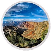 Grand Canyon Xxi Round Beach Towel