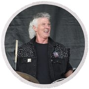 Grand Funk Railroad Round Beach Towel