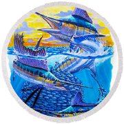 Grand Slam Baitball Round Beach Towel