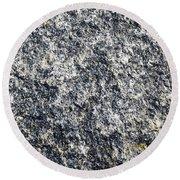Granite Abstract Round Beach Towel