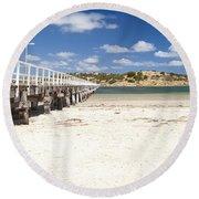Granite Island Round Beach Towel