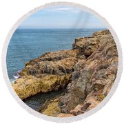 Granite Shore Round Beach Towel