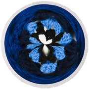 Granny Circle Round Beach Towel