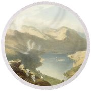 Grasmere From Langdale Fell, From The Round Beach Towel
