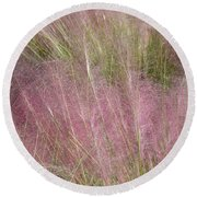 Grass Photography - Soft - By Sharon Cummings Round Beach Towel