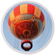 Great Ballon Ride Round Beach Towel